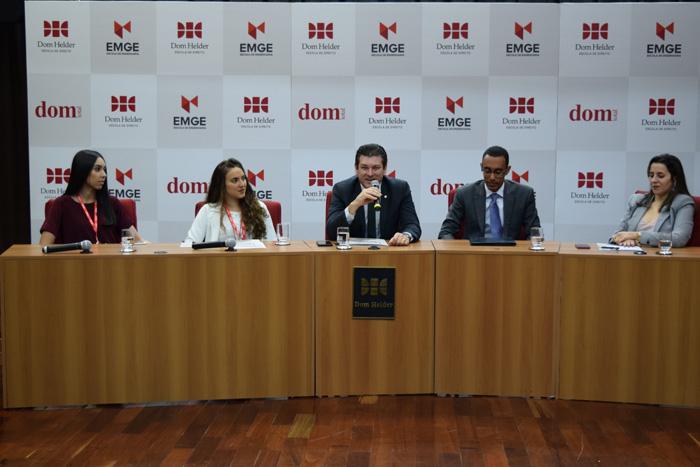 O advogado Fernando Martelleto, diretor da Adep, também discursou na solenidade.