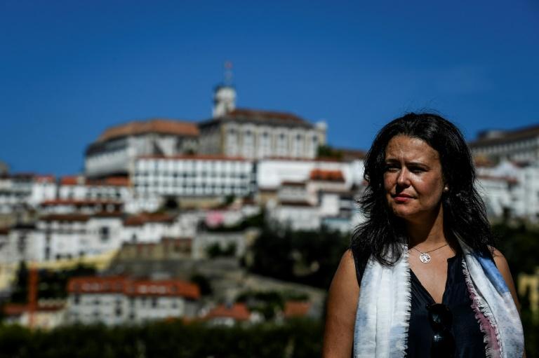 Liliana Inverno, professorad e linguística, em Coimbra, Portugal.