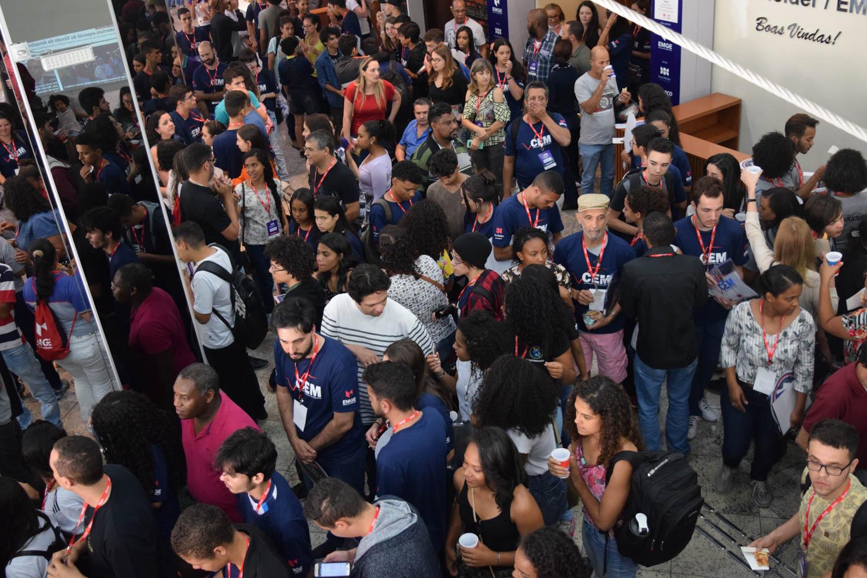 Público durante o encerramento do Campeonato Estadual de Matemática (CEM).