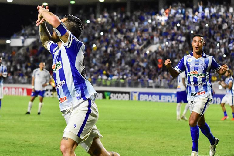 O CSA conseguiu a terceira vitória seguida em casa neste Campeonato Brasileiro.