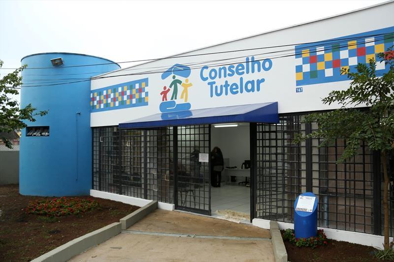 Sede do conselho tutelar Cajurú, em Curitiba.