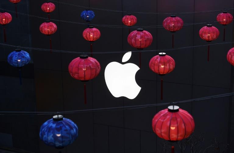 A Apple tem uma presença enorme na China.