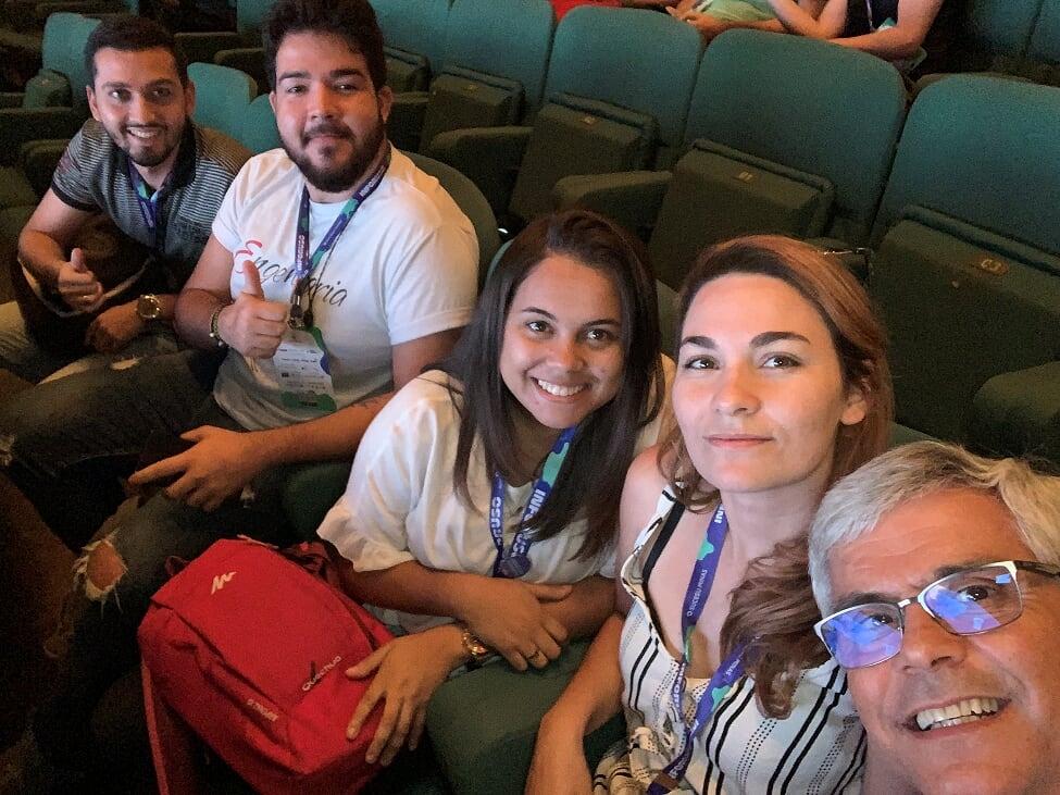 Alunos da EMGE participam do 36º Inforuso, evento de tecnologia promovido pela Sucesu Minas.