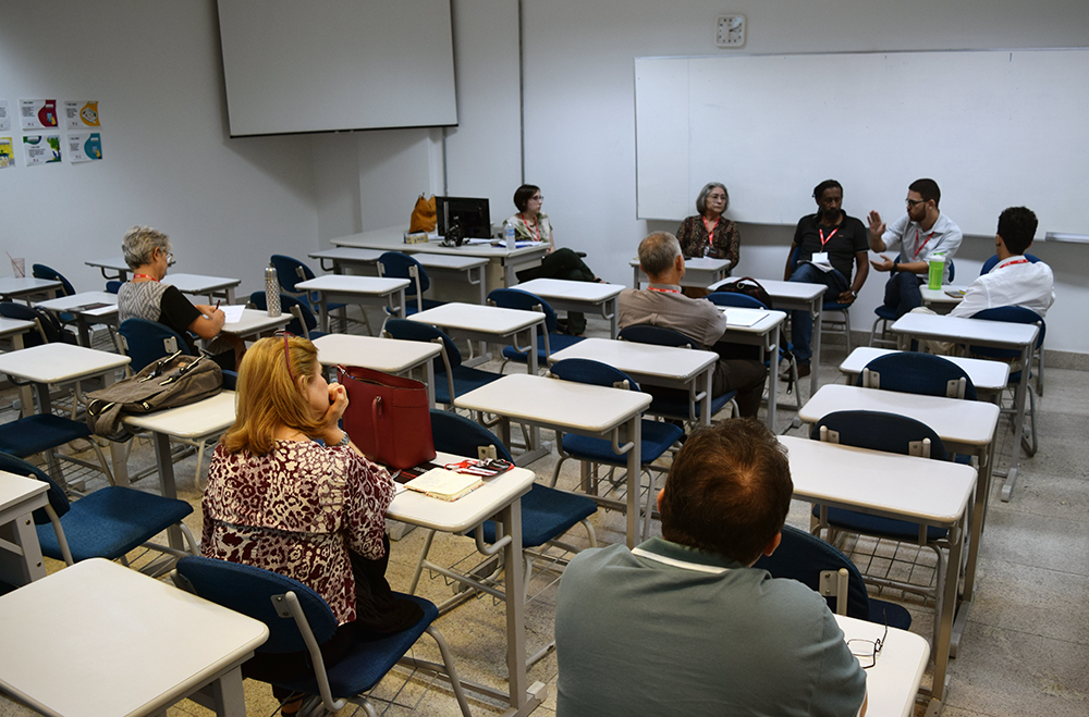 O tema Ética, Direitos Humanos e Pós-humanismo também foi discutido por dois grupos de trabalho.