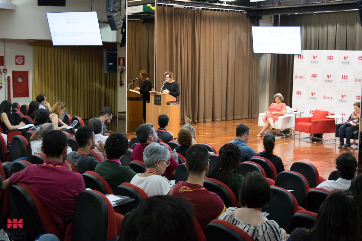 IV Seminário Emmanuel Lévinas: Mesa-redonda 'Linguagem, feminino e literatura'.