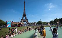 Ondas de calor como as registradas recentemente na Europa preocupam especialistas. (Gerard Julien/AFP)
