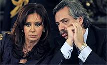 Cristina Kirchner e Alberto Fernández são favoritos na Argentina, o que desagrada Bolsonaro. (Daniel Garcia/AFP)