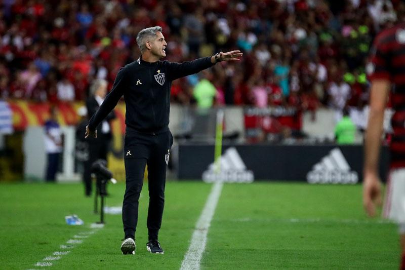 Apesar do péssimos resultados, Rodrigo Santana continua prestigiado no Atlético
