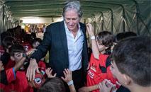Jorge Jesus comanda o líder do Brasileirão (Paula Reis / Flamengo)