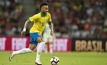 Craque Neymar voltou a criticar a imprensa (Lucas Figueiredo/CBF)