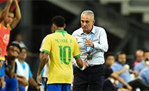 O time canarinho ficou no 1 a 1 com a Nigéria em Singapura. (Roslan Rahman/AFP)