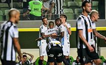 Alisson faz o 4º para o Grêmio contra o Atlético, partida válida pela 25º rodada do Campeonato Brasileiro. (Gledston Tavares/FramePhoto/Gazeta Press)