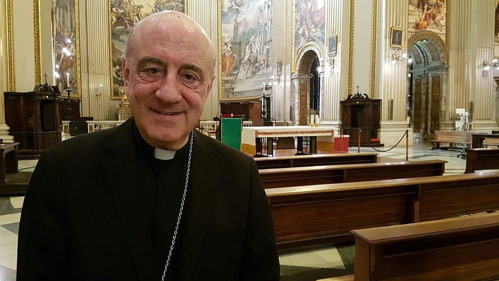 Dom Murilo Krieger, SCJ presidiu missa em homenagem à santa em Roma.