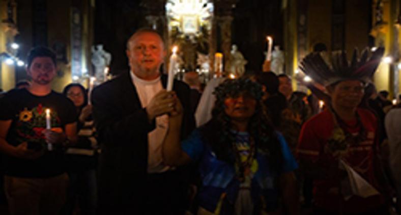 Portanto, são míopes ou de má fé aqueles que se proclamam contra o Sínodo da Amazônia. (Guilherme Cavalli/ Cimi)