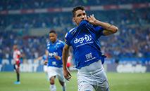 Thiago Neves fez o gol do Cruzeiro na vitória sobre o São Paulo. (Vinnicius Silva/Cruzeiro)