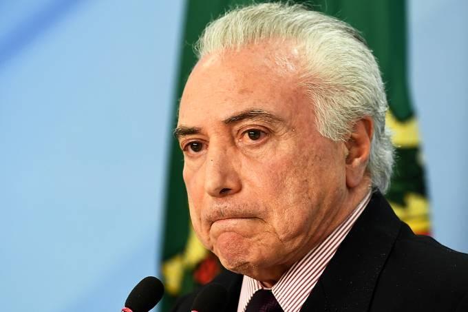 A denúncia foi barrada pela Câmara dos Deputados em outubro de 2017, o que suspendeu sua tramitação até o encerramento do mandato de Temer