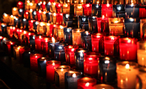 Cada vez menos velas nas igrejas americanas (Paul Robert/Unsplash)