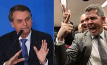 Jair Bolsonaro está colecionando desafetos entre membros do próprio PSL. (Antonio Cruz e Rodrigues Pozzebom/Ag. Brasil)