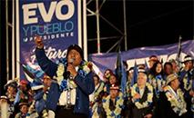 Mas muitos aimarás bolivianos estão divididos a respeito de Evo (Manuel Claure/Reuters)