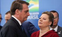 'Esperava mais respeito e gratidão', diz Joice sobre Bolsonaro (Marcos Corrêa/PR)