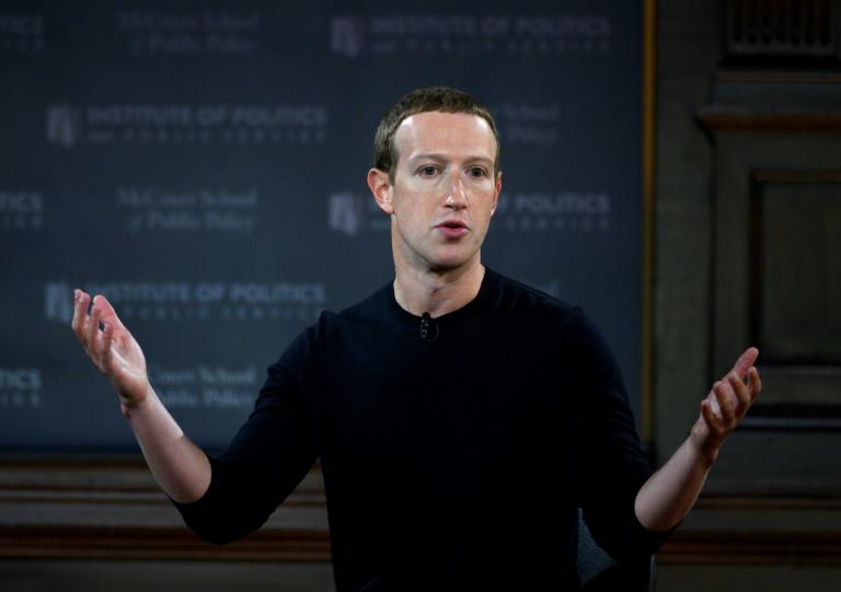 CEO do Facebook, Mark Zuckerberg (AFP/Arquivos)