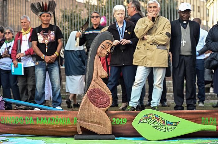 Ao contrário do que divulgaram, a peça foi fabricada para simbolizar a terra fecunda do território amazônico e não era associada a nenhuma divindade indígena