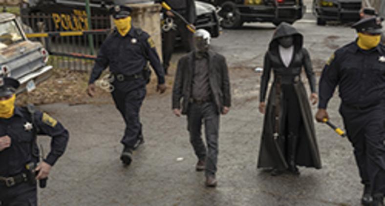 Cena da série Watchmen (Divulgação)
