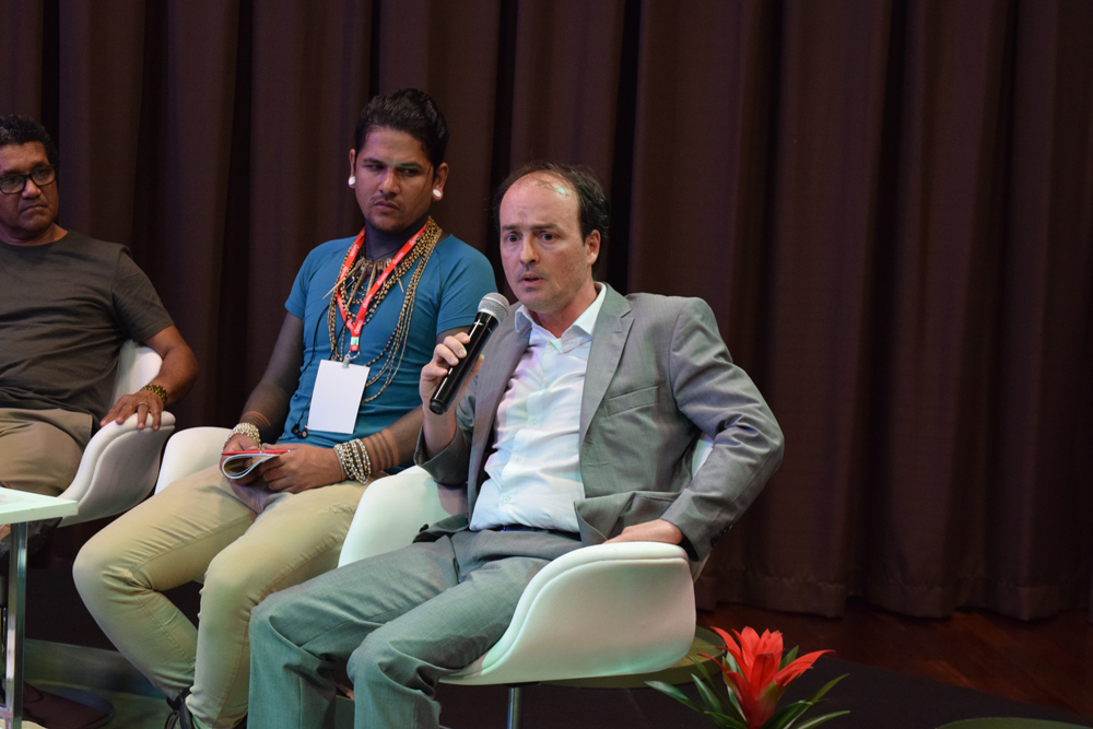 Eliberto Barroncas durante a quarta semana de estudos amazônicos