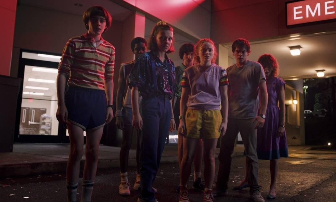 Em quatro dias, a terceira temporada de Stranger Things, da Netflix, foi exibida em 40 milhões de contas domésticas no mundo.