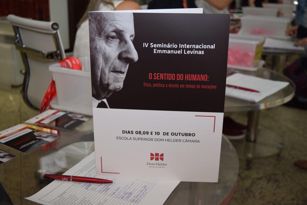 O 4º Seminário Internacional Emmanuel Levinas tem como tema