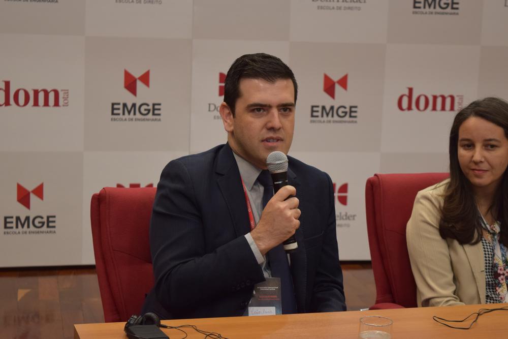 O representante do Conselho Diretor Nacional de Pesquisa e Pós-graduação em Direito (Comped) e docente da Dom Helder, professor Caio Augusto Souza Lara.