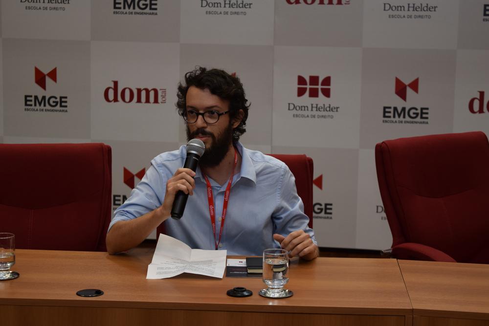 Professor Diogo Villas Boas Aguiar abre a segunda parte dos trabalhos