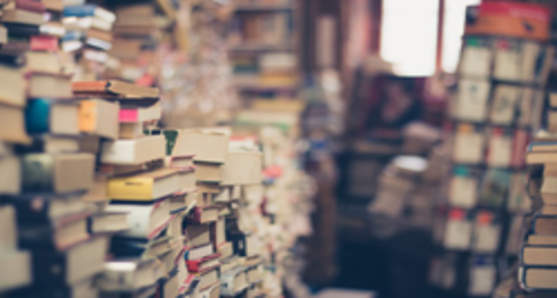 Um colchão de retalhos. Dos livros lidos e vividos, dos apenas folheados, dos jamais compreendidos e dos que ainda não foram devidamente devorados. (Pixabay)