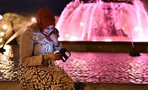 O uso do véu e de outras roupas com simbolismo religioso costuma gerar polêmica na França, um país visceralmente ligado ao laicismo (AFP)