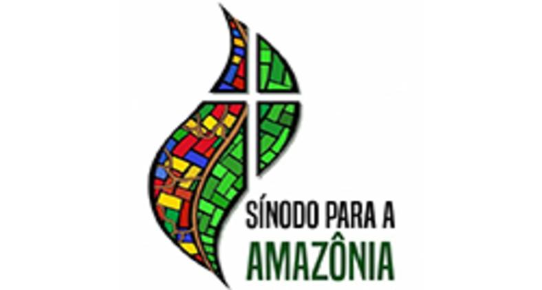 Logo oficial do sínodo para a região pan-amazônica, realizado de 6 a 27 de outubro, no Vaticano (Vatican News)