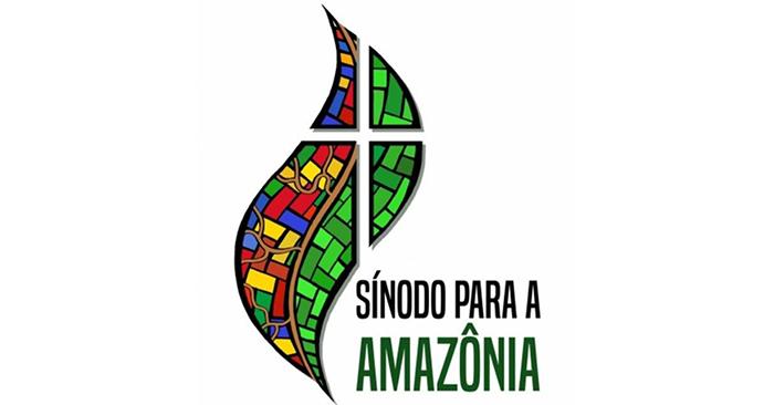 Logo oficial do sínodo para a região pan-amazônica, realizado de 6 a 27 de outubro, no Vaticano