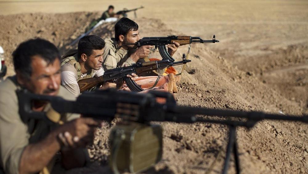Curdos lutam contra o Daesh, o autodenominado Estado Islâmico
