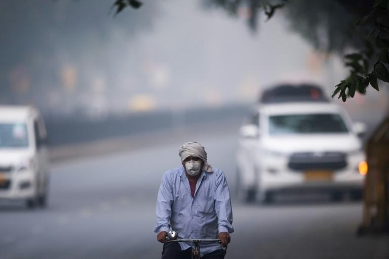 Nova Délhi em 4 de novembro de 2019