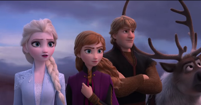 Os heróis de Frozen 2, no novo trailer do filme