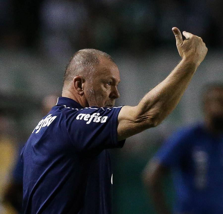 'O Flamengo pode perder, aí diminui um ponto. Vamos esperar'