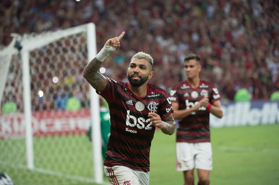 Gabigol deixou o dele em mais um triunfo do Flamengo