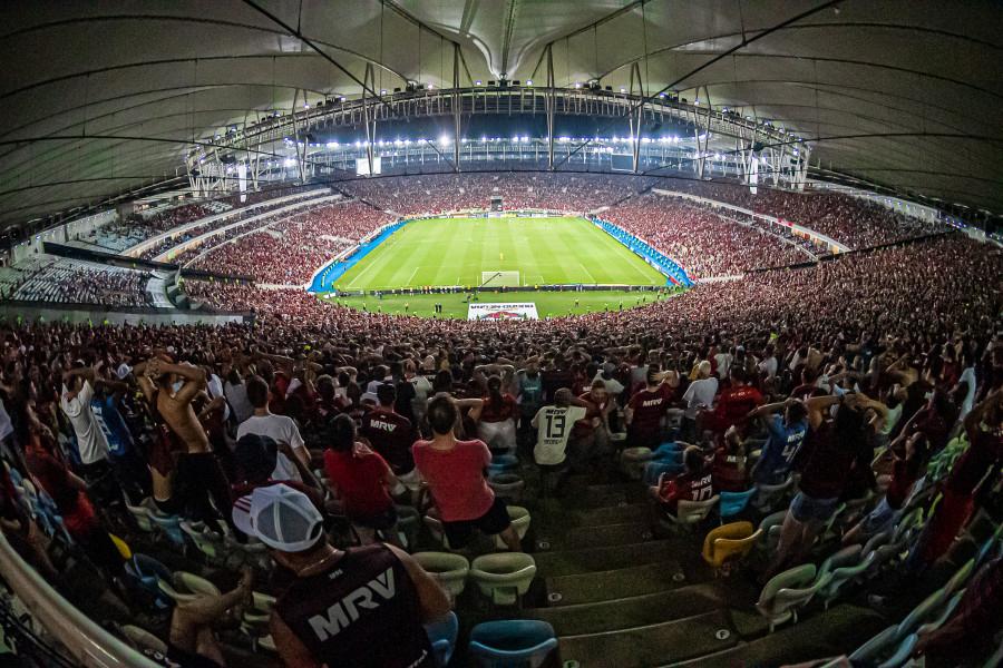 Flamengo, líder da média de público, costuma ter a maioria composta pelos sócios-torcedores (69%)