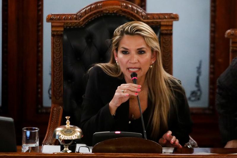 Jeanine Añez é a presidente interina da Bolívia até as novas Eleições