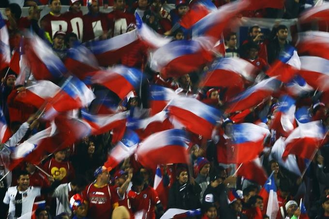 Torcida chilena terá que esperar para ver a seleção do país em ação