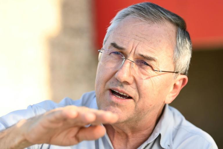 O historiador Laurentino Gomes concede entrevista à AFP em Brasília