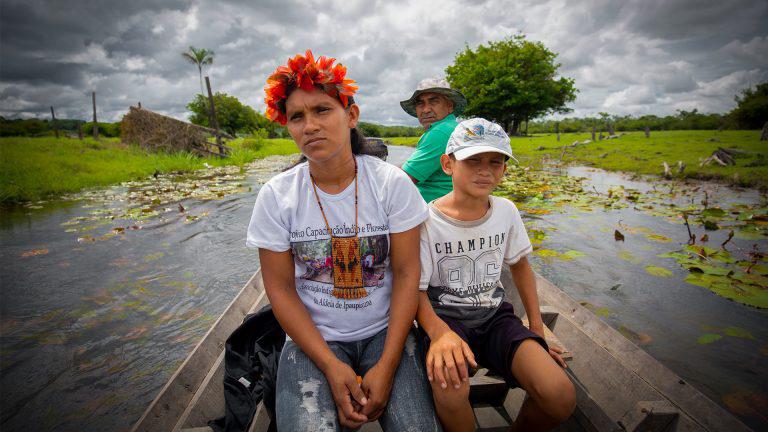 A cerca que os divide – a luta do povo munduruku do Planalto