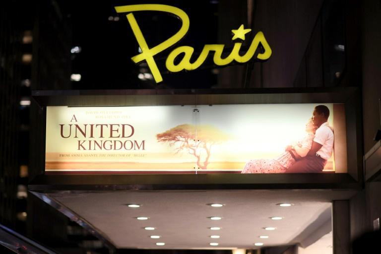 O cinema Paris Theatre de Nova York, um dos mais antigos da cidade em 2017