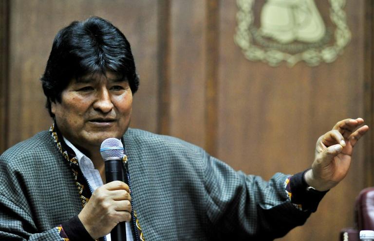 Morales, agora asilado no México, denunciou que a Interpol o procura na América do Sul