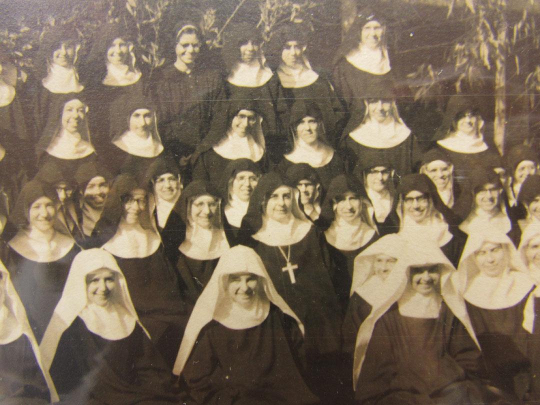 Nos anos 60, o mosteiro chegou até 72 membros