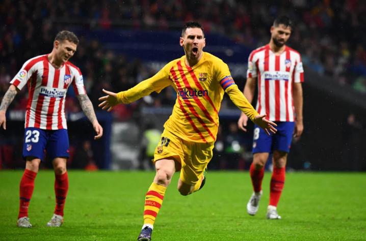Messi foi o artilheiro da partida